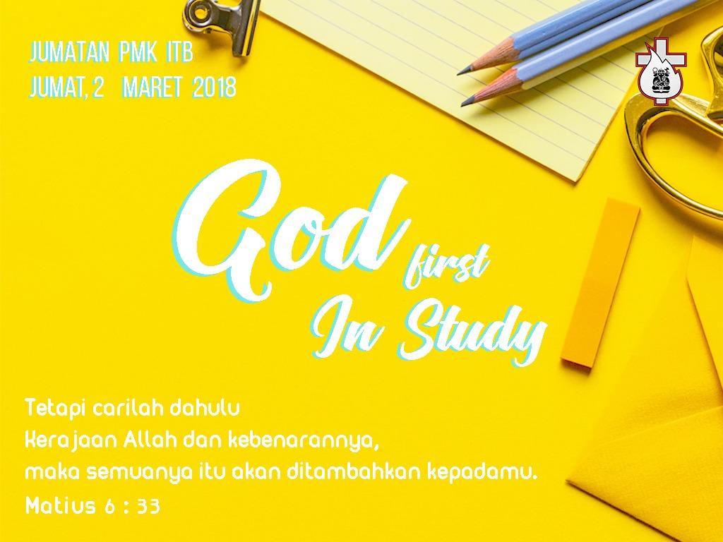 Mengutamakan Tuhan dalam Studi